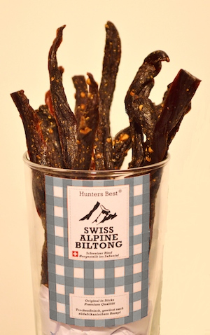 Swiss Alpine Biltong Sticks Hirsch